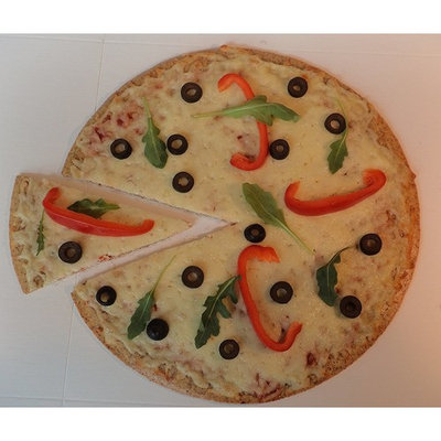 Protein Pizza Crust Mix, Low Carb, Gluten Free, Made in Canada - makes 4 large 12