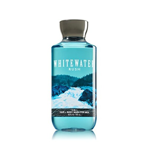 Bath & Body Works 2 in 1 Hair & Body Wash For Men Whitewater Rush []