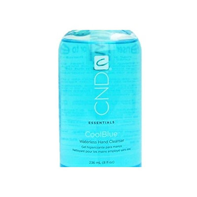 Coolblue Cool Blue Waterless Hand Cleanser Sanitizer A refreshing, water-free sanitizer that leaves skin soft : Size 8 fl oz