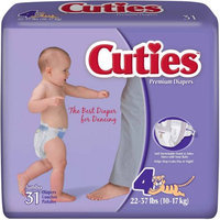 Covidien (Kendall) 80038A Curity Baby Diaper-Large-192/Case