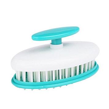 ROSENICE Shampoo Scalp Hair Shower Massage Brush Comb (Green)