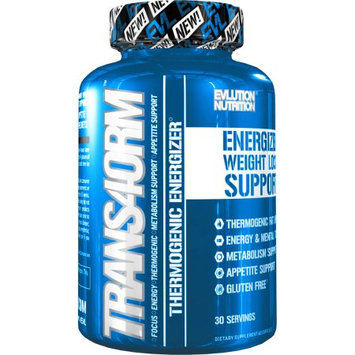 Evlution Nutrition Trans4orm Thermogenic Energizing Fat Burner Supplement