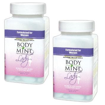Body Mint Usa (Set/2) Lady Body Mint Feminine Deodorant Tablets - Formulated For Women