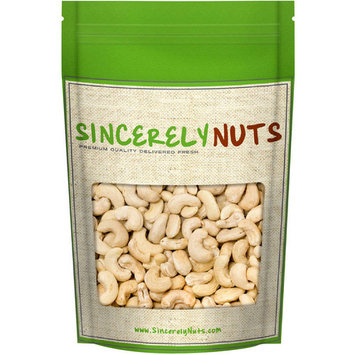 Sincerely Nuts Whole Raw Cashews, 2 LB Bag
