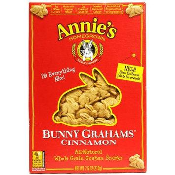Annies Homegrown Graham Snacks - Organic - Bunny Grahams - Cinnamon - 7.5 oz - 1 each (Pack of 3)