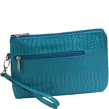 Primeware French 75 Daily Essentials Cosmetics Bags, Blue Turquoise