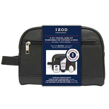 IZOD Travel Bag Kit, PerformX, 4 Piece
