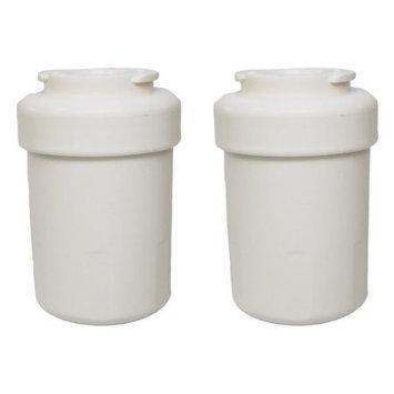 Crucial Brands 2 GE Refrigerator Water Purifier Filters Fit GE MWF GWF HWF 46-9991 WSG-1 WF287 & EFF-6013A