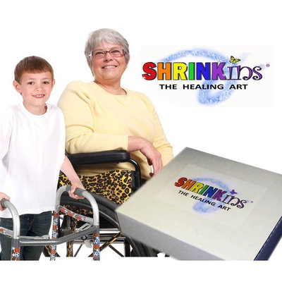 Shrinkins The Healing Art TEMPORARY Medical Device Fashion Decorating Cover PARTY Kit- ADULT & CHILD MIX