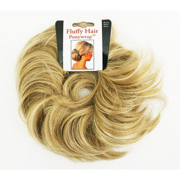 Mia Fluffy Hair Ponywrap Hair Accessory, Pretty Stylish Ponytail Holder Made Of Synthetic Wig Hair On An Elastic Rubber Band, Instant Hair + Volume, Light Brown, For Women, Girls, Dress Up 1 pc