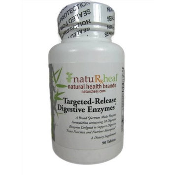 Targeted-Release Digestive Enzymes 90 Tablets