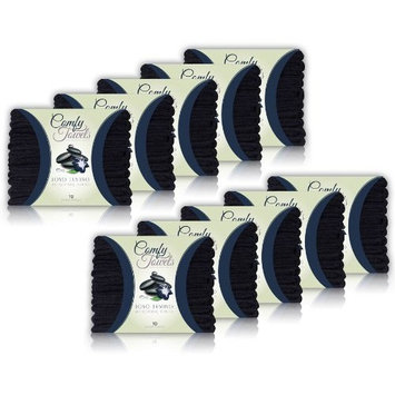 Comfy Black Microfiber Salon Towels - 100 Pack , 29