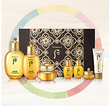 The history of Whoo Gongjinhyang In Yang Special Gift Set 2017 - (In Yang Balancer + In Yang Lotion + Qi&Jin Cream)