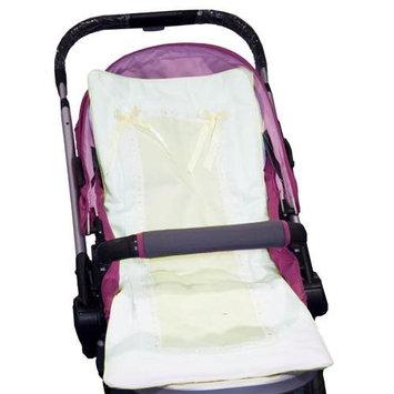 Baby Doll Bedding Stroller Covers, Ecru