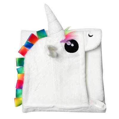 JIAJUN Unicorn Hooded Baby Bath Towels and Organic Bamboo Baby Towels with Hood (600 GSM)40