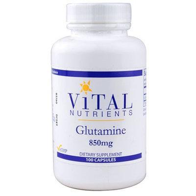 Vital Nutrient's Vital Nutrients - Glutamine 850 mg. - 100 Capsules