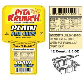 Pita Krunch Inc Pita Krunch / Pita Chips - Plain