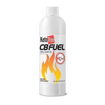 KetoThin C8Fuel (Capryic Triglycerides) 99% C8 Oil (16oz) (Ultra Pure)