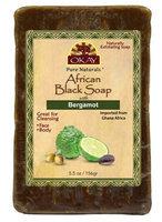 OKAY African Black Soap Bergamont 156 g - 5.5 oz