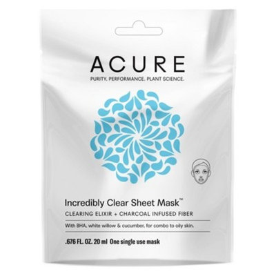 Acure Incredibly Clear Sheet Mask - 1ct