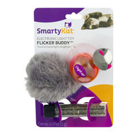 SmartyKat Flicker Buddy Electronic Light Cat Toy, Multicolor