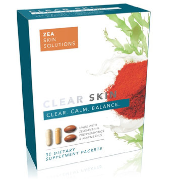 Zss Clear Skin Supplements - 30 Day