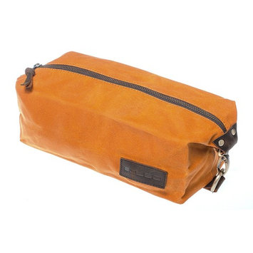 KUBO Waxed Canvas Toiletry Bag or Dopp Kit Bag - Waterproof, Durable, Chic & Stylish - Ideal Travel Toiletry Bag for Men & Women - Versatile Toiletry Kits Bag Design - Ideal Gift
