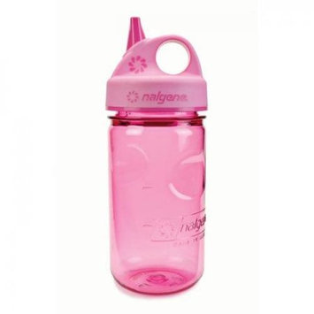 Nalgene Grip-N-Gulp Water Bottle, 12oz - Pink Woodland