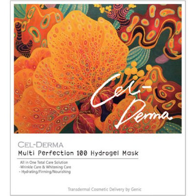 Genic Co., Ltd. Cel Derma Multi Perfection Hydrogel Type Facial Treatment (Pack of 4)