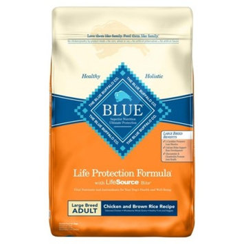 Blue Buffalo Adult Chicken & Brown Rice Large Breed - Dry Dog Food - 24lb bag