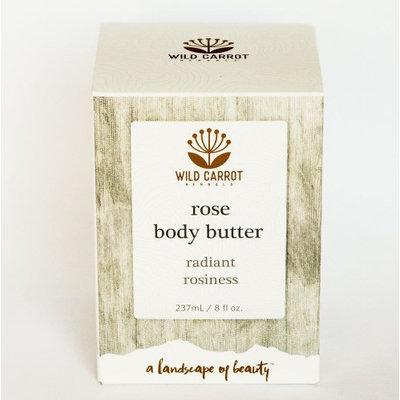 Rose Body Cream Wild Carrot Herbals 240 mL Cream