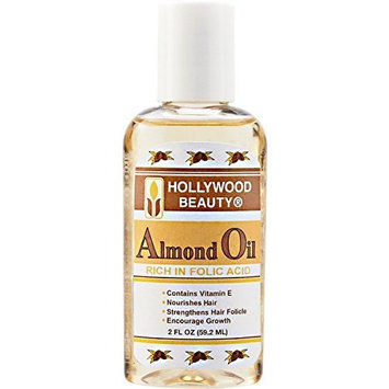 Hollywood Beauty Almond Oil by HOLLYWOOD BEAUTY IMPORTS INC.