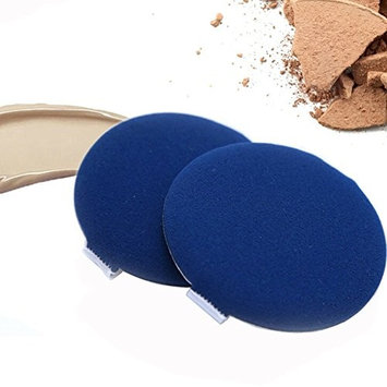 6PCS Blue Wet And Dry Cosmetic Powder Puff Makeup Foundation Sponge Air Cushion For BB CC Cream Liquid Facial Tool Foundation Powder Puff