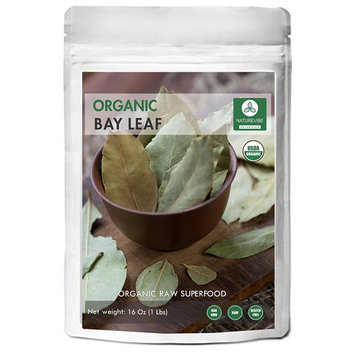 Organic Bay Leaf (1lb) by Naturevibe Botanicals, Gluten-Free, Raw & Non-GMO (16 ounces)
