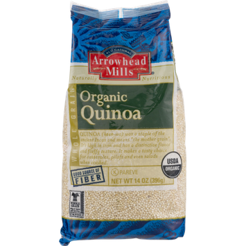 Hain Celestial Arrowhead Mills Organic Quinoa, 14 Oz