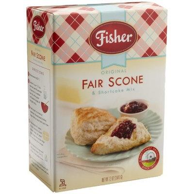 Fisher Original Fair Scone & Shortcake Mix, 72-Ounce Box