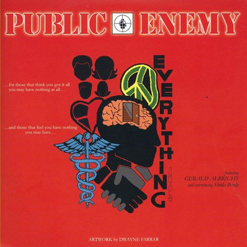 Public Enemy Everything / I Shall Not Be Moved [Limited Edition] (Vinyl) (7-Inch) (Limited Edition)