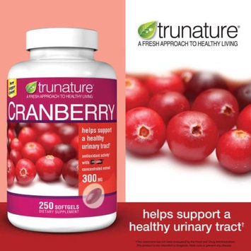 trunature Cranberry 300 mg, 250 Softgels