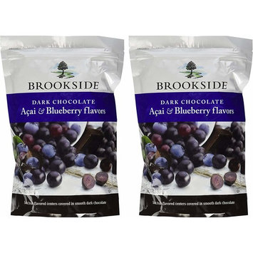 Brookside Dark Chocolate Acai with Blueberry 2 Pounds Resealable Bag (Pack of 2)