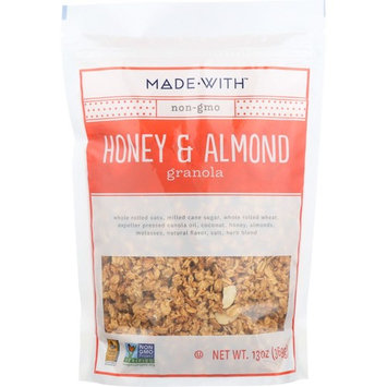 Made With Honey & Almond Granola, 11 Oz (Pack Of 6) Â…
