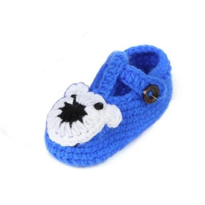 YL Baby Boy's Crochet Woolen Yarn Sock Shoes 8 Choices