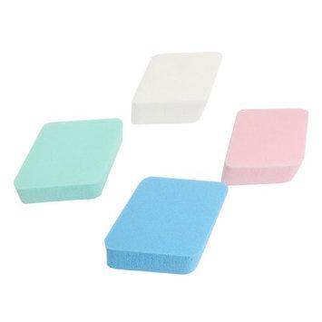 Rhombus Shaped Cosmetic Sponge Pad Facial Powder Puff 4 Pcs