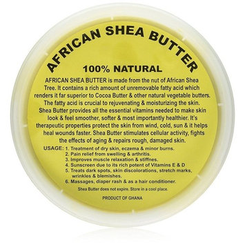 Raw Unrefined African Shea Butter Selections (8 Oz, 16 Oz, 32 Oz)- Grade AAA Premium Shea Butter From Ghana - Use on Acne, Eczema, Stretch Marks (8 OZ G