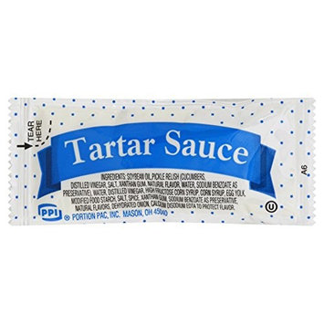Portion Pack Tartar Sauce, 0.32-Ounce Single Serve Packages (Pack of 200)