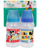 Fisher-price Mickey Mouse 2-Pack Bottles (11 oz.) - royal blue multi, one size