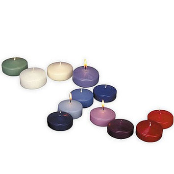 Weddingstar Wedding Star 4020-26 Colored Floating Candles- Chocolate