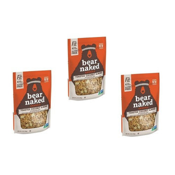 Bear Naked Toasted Coconut Almond Granola, 12 oz (PACK OF 3)