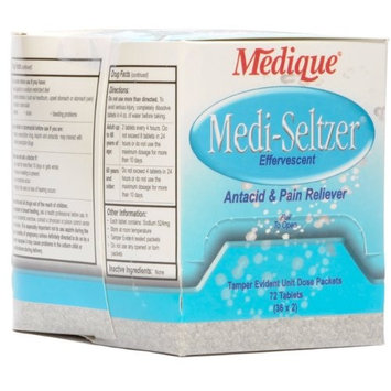 Medique Products 13524 Medi-Seltzer, 36-Packets of 2