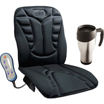 Comfort Products 6 Motor Massage Cushion with BONUS Travel Mug Value Bundle