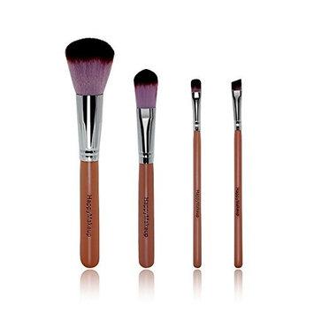 OVERMAL 4x Pro Makeup Brushes Set Foundation Powder Eyeshadow Brush Scattered brush Too